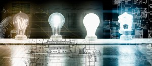 Evolution of the light bulb - from Thomas Edison to energy saving bulb